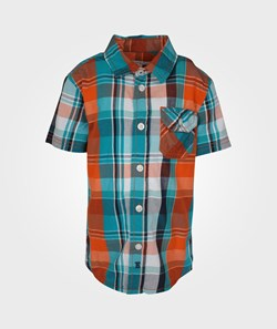 Esprit Check Shirt Blazing Orange