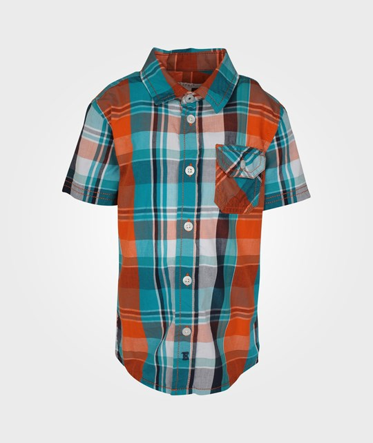 Esprit Check Shirt Blazing Orange Orange