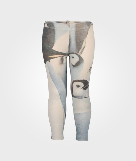 Popupshop Leggings Penguins Black