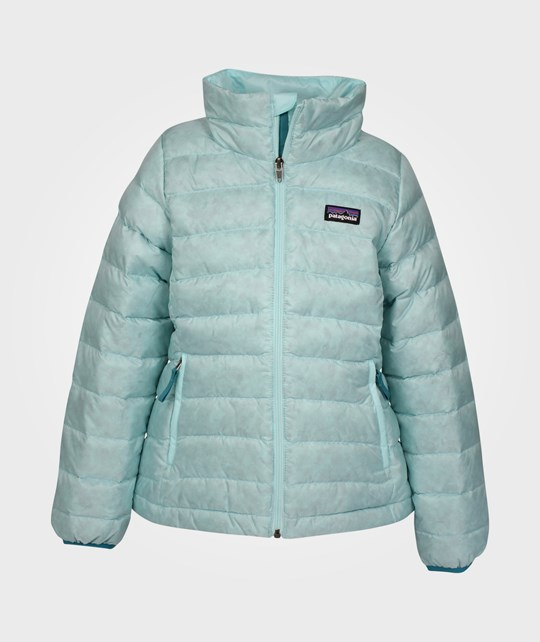 Patagonia Girls Down Sweater Polar Blue Blue