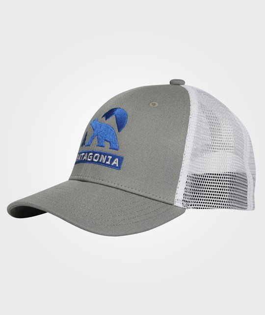 Patagonia Kids Trucker Hat Feather Grey  Multi
