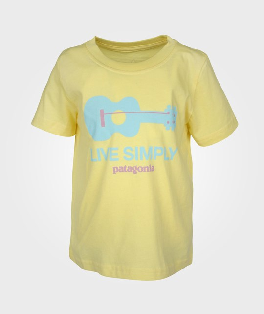 Patagonia Baby Live Simply T-shirt Pineapple Yellow