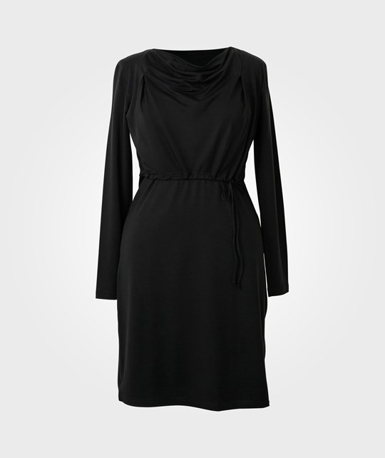 Boob Nursing Dress Grace Black