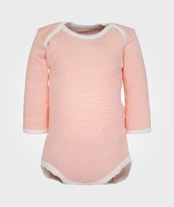 Noa Noa Miniature Baby Body LS Neon Orange