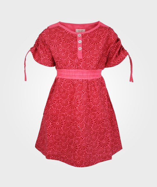 Noa Noa Miniature Dress SS Light Tawny Red Red