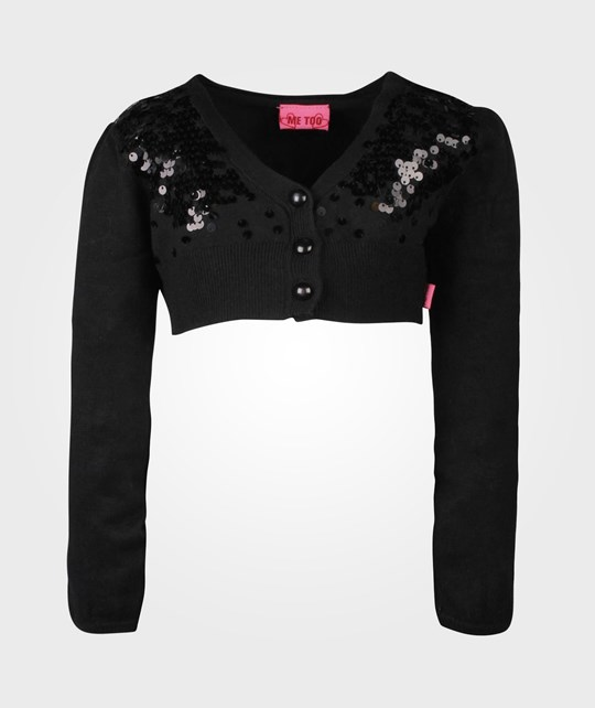 Me Too Unnur Bam Knit Bolero Tap Shoe Black