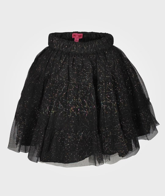 Me Too Uma Bam Tulle Skirt Tap Shoe Black