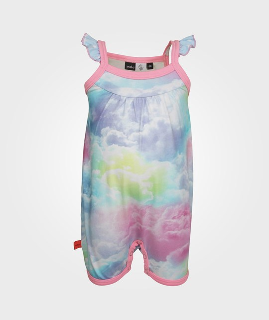 Molo Faline Bodysuit Rainbow Clouds Multi