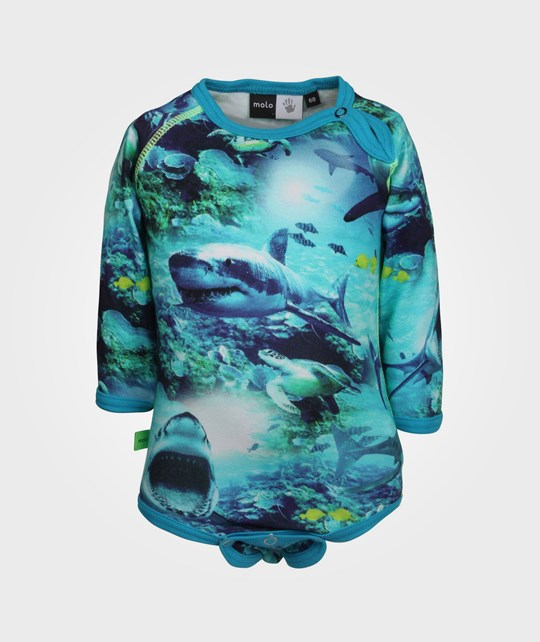 Molo Field Sharks Blue