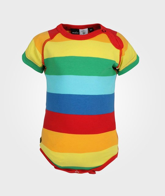 Molo Feodor Rainbow Stripe Multi